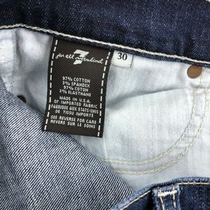 7 for all Mankind Jeans - 7 for all mankind Dojo Jean Flare Leg Trouser 30x3